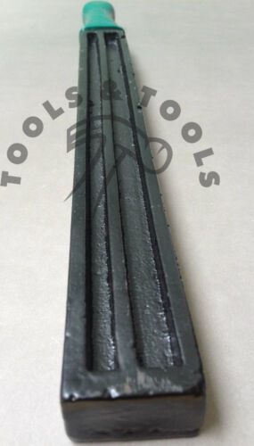 Large Double Sided Grooved Ingot Mould 15/'/' Cast Iron Silver /& Gold Scrap Metals