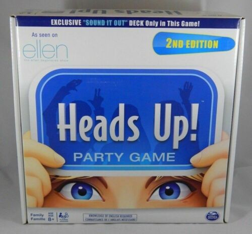 Heads Up! Party Game 2nd Edition NEW As Seen On Ellen Show