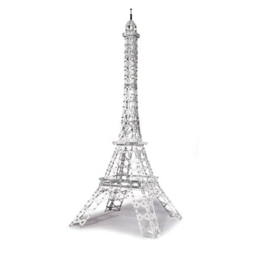 Deluxe Eiffel Tower Eitech C33 Metal Building Construction Toy Steel Model