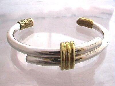 25g 925 Sterling Silver Cuff Bangle Bracelet