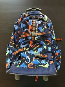Pottery Barn Kids Rolling Luggage Suitcase W Backpack Boy