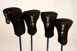 Golf-Club-Hybrid-Headcovers-New-3-4-5-6-Set-Head-Covers-Fits-Taylormade-Hybrids
