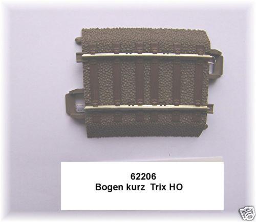 TRIX HO 62206 Gleis gebogen 5,7°Radius 437,5 mm#1 Stück