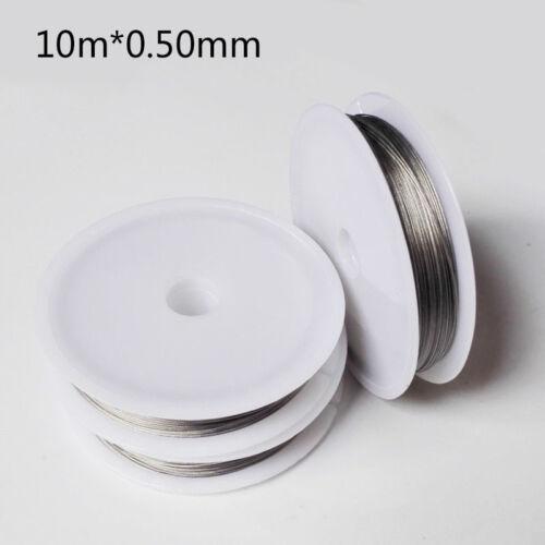 stark Stränge Draht Angelschnur mit Beschichtung Draht Angeln Durable 3-0 5 mm