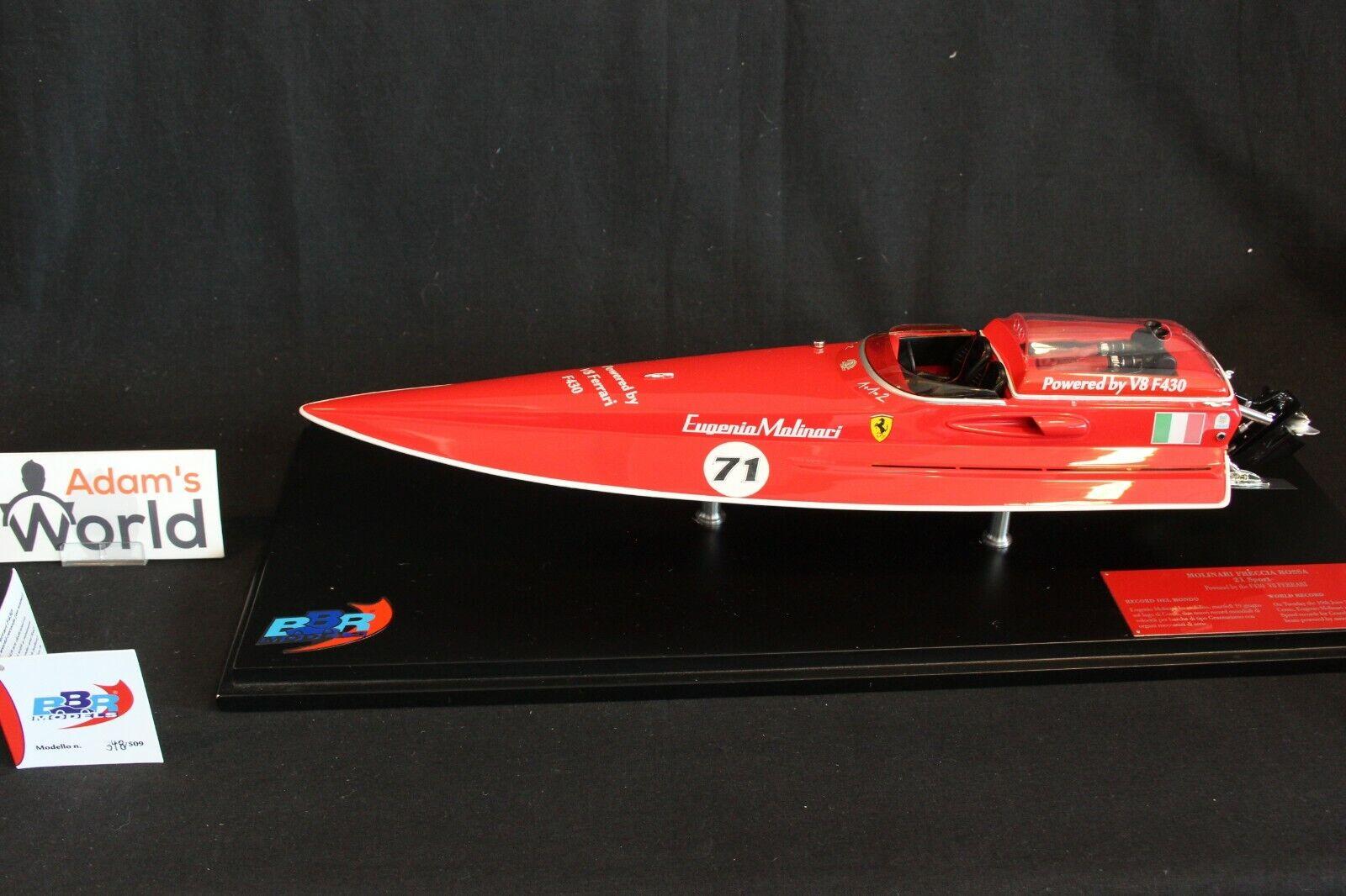BBR Molinari Freccia Rossa 21 Sport Power boat 1 18 rosso   nero (PJBB)