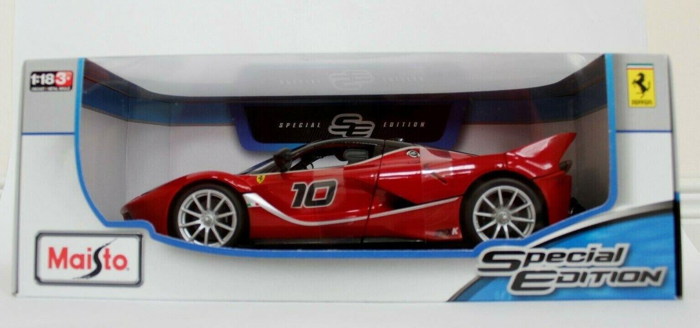 Maisto Ferrari FXX K Special Edition Diecast Car 1 18 Scale