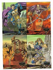 SKELETON WARRIORS Fleer Ultra 1995 NO# PRINCE LIGHTSTAR CHEAP PROMO CARD