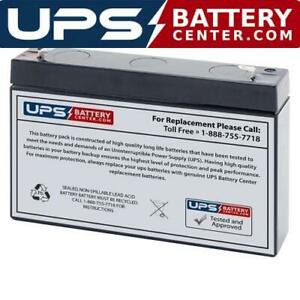 Bosfa GB6-4 6V 4Ah Compatible Replacement Battery by UPSBatteryCenter