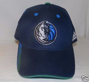 c7c190dabbd ADIDAS NBA Basketball Dallas Mavericks Logo Hat   Cap - Blue Size M ...