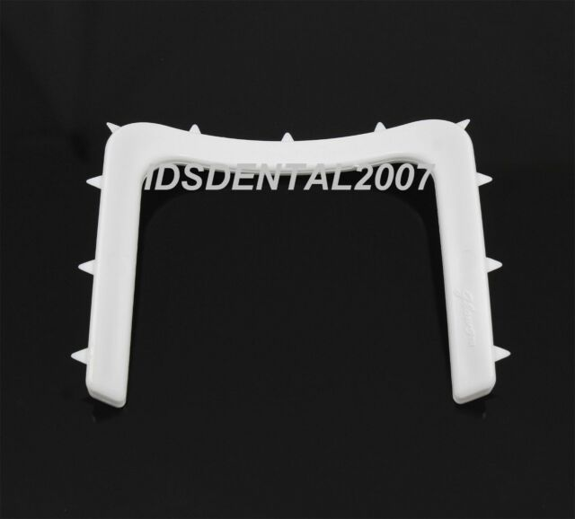 6 PCS Dental Plastic Rubber Dam Frame Holder U Shape Instrument Autoclavable NEW