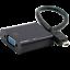 For NoteBook PC black 10 inch Mini HDMI to VGA Female Adapter 1080P