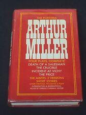 Arthur Miller The Portable Rare Signed Autograph 1st Edition Hardback Book