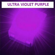 50 x ULTRA VIOLET 1210 3528 SMD SMT PLCC-2 SURFACE MOUNT ULTRA BRIGHT LEDS
