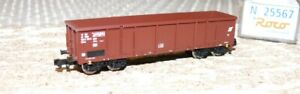 B31-Roco-25567-Hochbordwagen-Gattung-Eaos-OBB-88mm-Spur-N