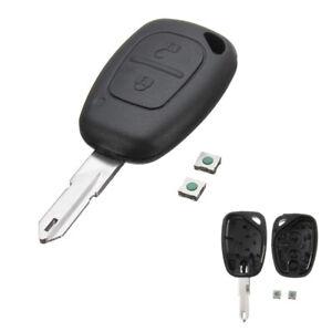 2-Button-Remote-Key-Fob-Shell-Case-For-Renault-Trafic-Vivaro-Master-Kangoo-NEW