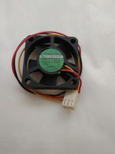 Sunon KDE1204PFV2 Ventilateur 12 V 0.6 W 3Pin 40*40*10mm #MY19 QL Y2
