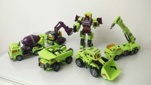Transformers NBK Devastator Transformation Boy Toy Oversize Action Figure