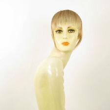 frange à clips peruk cheveux blond clair cuivré méché blond clair 20 en 27t613