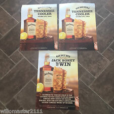 3 JACK DANIELS TENNESSEE HONEY A4 POSTERS