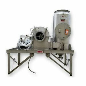 Details about Used 30HP Clean Gas Systems CGS Stainless Steel Wet Scrubber  Dynascrub I