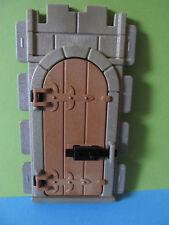 PLaymobil*Tür mit Türriegel Mauer Turm Fachwerkhaus *Ritterburg 3666* 3450*3667