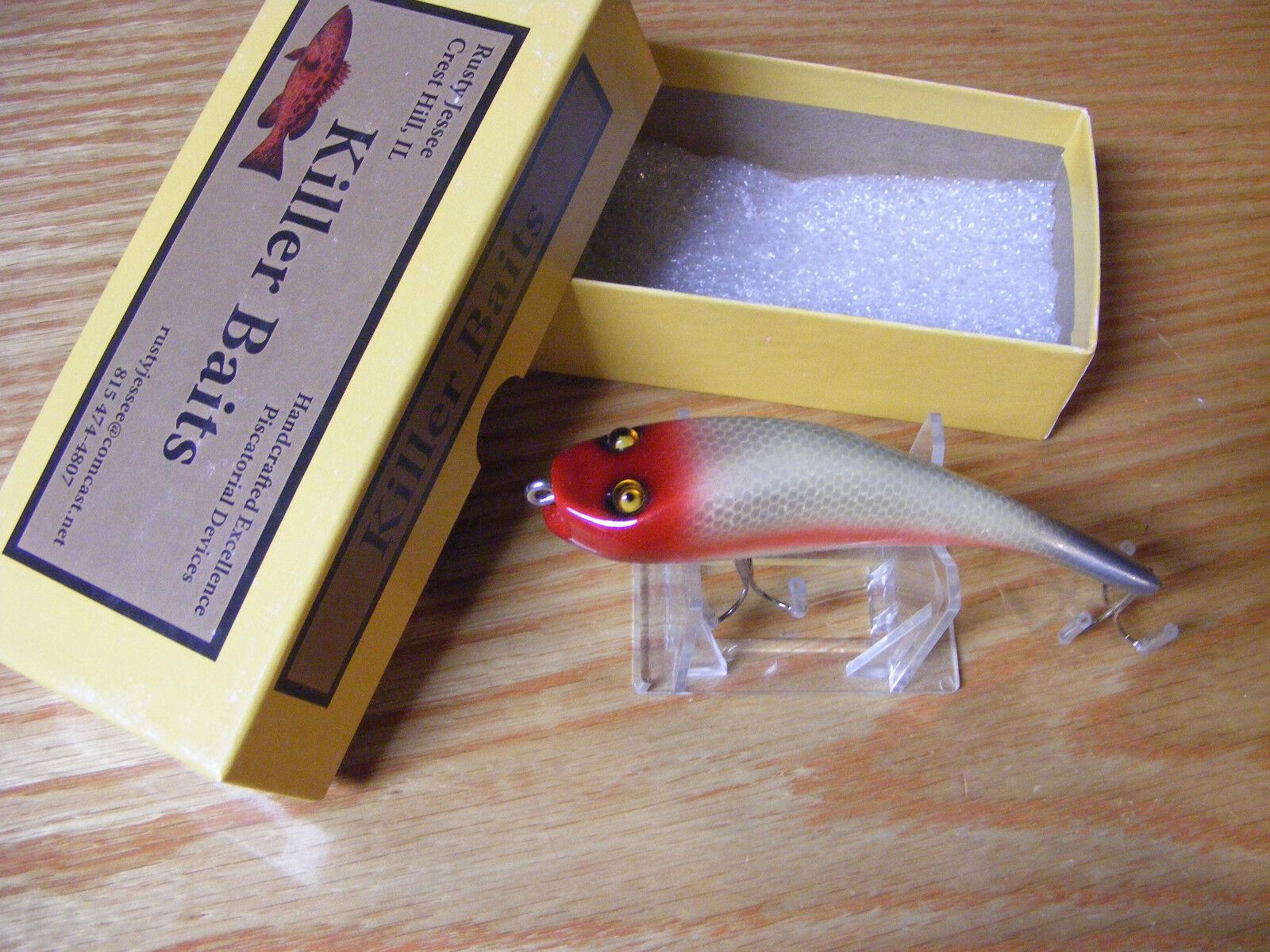 Killer Baits Rusty Jessee Glasseye Bullhead in PP Allen stripey color