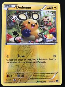 Carte-Pokemon-DEDENNE-57-162-Reverse-XY8-Impulsion-TURBO-FR-NEUF