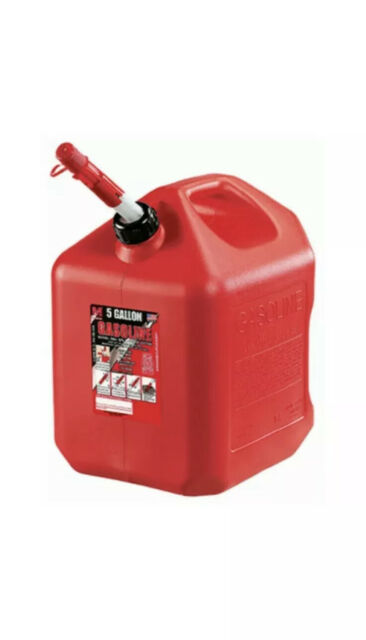 Midwest Can  FlameShield Safety System  Plastic  Gas Can  1 gal.
