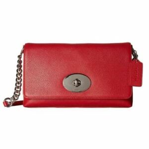 COACH-Red-Pebbled-Leather-Crosstown-Crossbody-Bag