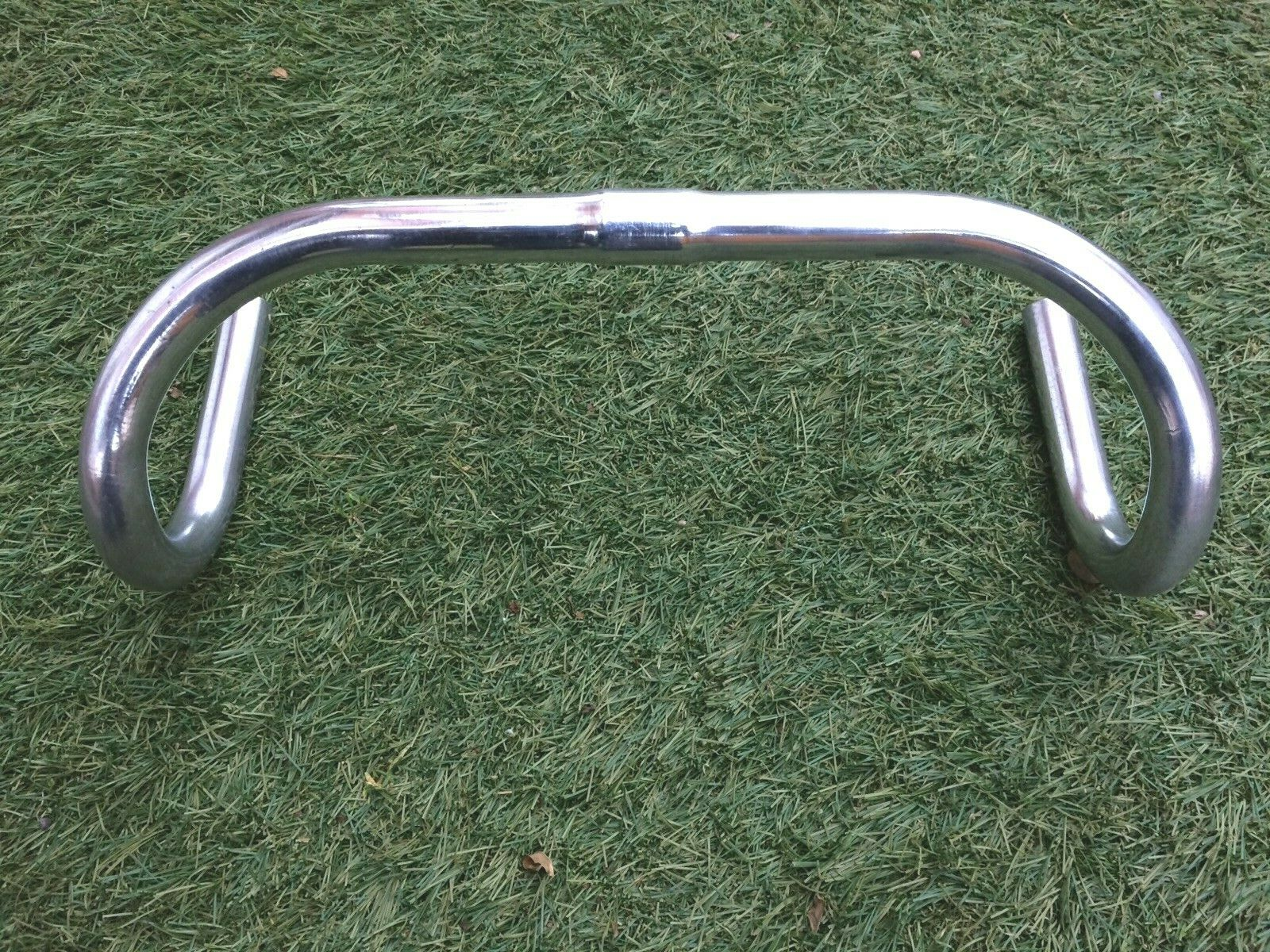 VINTAGE 1950's STRATALITE MAES ALLOY HANDLEBARS,38CM WIDE,IN EXC COND.L'EROICA