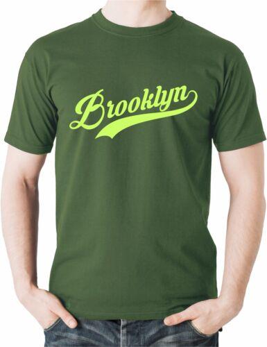 Brooklyn T Shirt Clothing Top NYC USA New York Tee Americana Present Gift