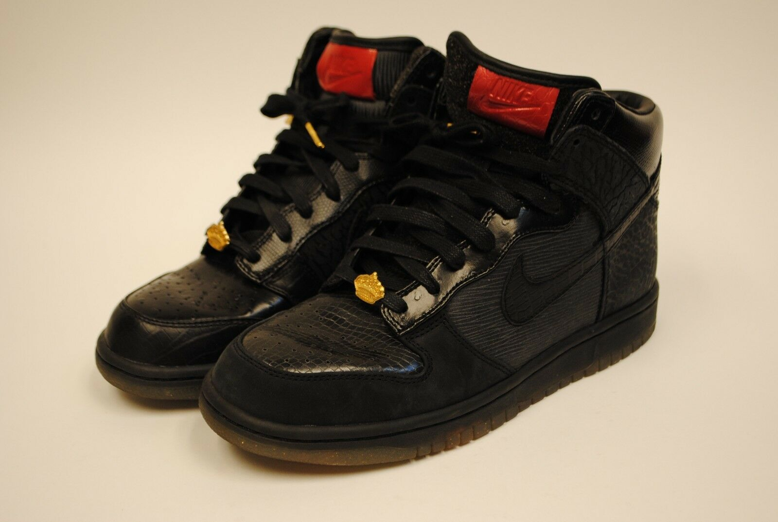 2011 Nike Dunk HI QS Mighty Crown 503766 001 Size 8