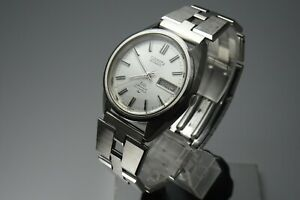 Vintage-1971-JAPAN-SEIKO-LORD-MATIC-SPECIAL-WEEKDATER-5206-6020-23Jewels-Automat