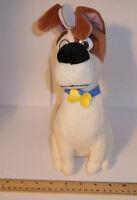 TY Huskie Dog Big Wide Eyed Sitting Puppy Supper Soft Fluffies Slush Toys