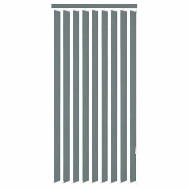 vidaXL Store vertical pour maison bureau fenêtre 150 x 180 cm Tissu Gris