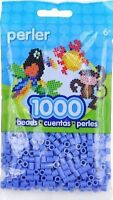 Bulk Buy: 5 X 1,000 Perler Periwinkle Blue Color Iron On Fuse Beads 80-19062