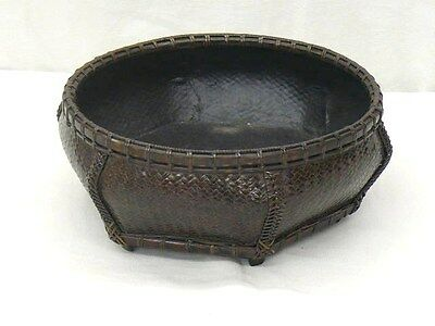 """TEA CEREMONY Bamboo """"Sumitori (Basket for Charcoal)"""" Y992"""