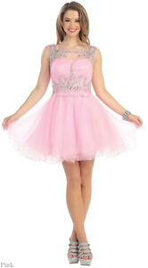 SHORT HOMECOMING QUEEN DRESS SEMI FORMAL PROM DANCE PARTY SWEET 16 ...