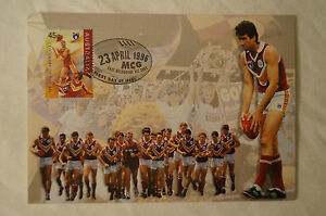BRISBANE-BEARS-Centenary-of-The-AFL-Maxi-Card-approx-145mm-x-104mm