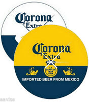Corona Extra Beer Bottle Label/cerveza Pub Bar Sign 14 Round Glass Wall Clock