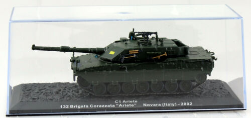 Tanques c1 ariete italia 2002 listo modelo 1:72 Altaya