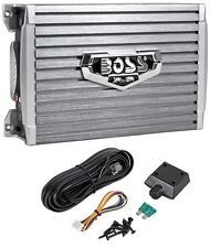 Boss Armor AR1500M 1500 Watt Mono Amplifier Compact Size Car Amp + Bass Remote
