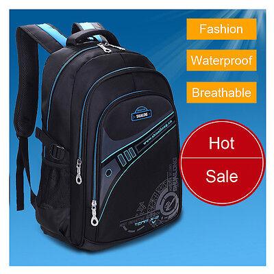 Fashion Children Boys School Bags Men's Leisure Travel Backpack Laptop Bags