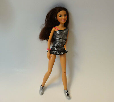 "Gentle 2011 Spinmaster Doll Brunette Vicgtorious 11 1/2"" Sparkle Dress Shoes Jointed Volume Large By Brand, Company, Character"