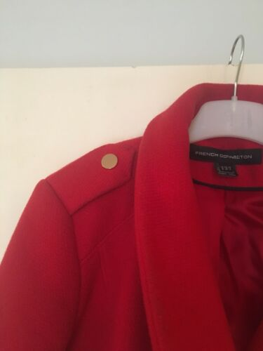 Coat Ladies 8 French Red Size Connection 0ntOTwq