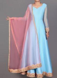 indian-pakistani-bollywood-anarkali-long-gown-custom-made-silk-dresses-Abaya-new