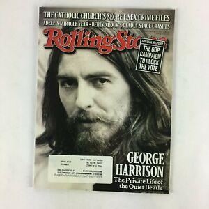September-2011-Rolling-Stone-Magazine-George-Harrison-Adele-039-s-Miracle-Year