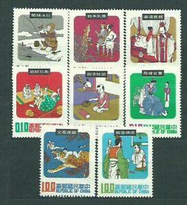 Formosa-Mail-1970-Yvert-715-22-MNH