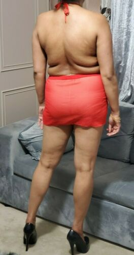 Sheer Micro Mini Dress Women/'s See Thru Short Party Backless Sleeveless