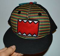 Rasta Domo Adult Adjustable Flat Bill Hat Officially Licensed Domo Merchandise